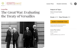 The Great War: Evaluating the Treaty of Versailles