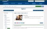 Algebra I Module 2, Topic D, Lesson 14