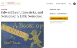 Edward Lear, Limericks, and Nonsense: A Little Nonsense