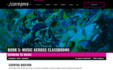 Book 5, Music Across Classrooms: Visual Arts. Chapter 4, Lesson 1: Drawing To Music