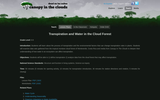 Transpiration and Water in the Cloud Forest