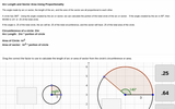 Circles: Arc Length and Sector Area Proportionality