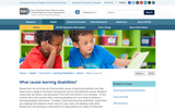 What Causes Learning Disabilities?
