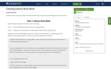 Creating Library Story Book
