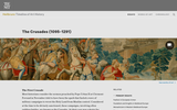 The Crusades (1095-1291)