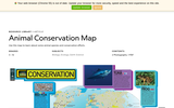Animal Conservation Map