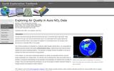 Earth Exploration Toolbook: Exploring Air Quality in Aura NO2 Data