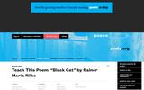 "Teach This Poem: ""Black Cat"" by Rainer Maria Rilke"