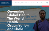 Governing Global Health: The World Health Organization and Ebola