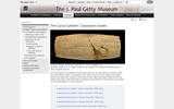 The Cyrus Cylinder: Classroom Guides