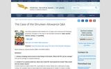 The Case of the Shruken Allowance-Q&A