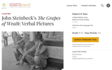 John Steinbeck's The Grapes of Wrath: Verbal Pictures