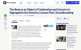 The Beat as an Object of Celebration and Concern in Segregation-Era America