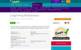 2-Digit Array Multiplication