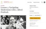 Lesson 3: Navigating Modernism with J. Alfred Prufrock