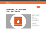 The Heat is On: Cause and Effect and Climate