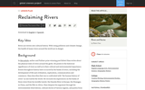 Reclaiming Rivers