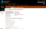 Data Organization and Representation