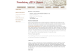 Alexander Hamilton and the Roots of Federalism