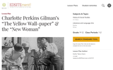 """Charlotte Perkins Gilman's """"The Yellow Wall-paper"""" & the """"New Woman"""""""