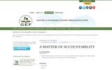 A Matter of Accountability