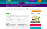 3 Little Pigs - Creating a Readers' Theater Presentation