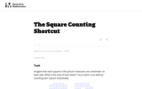 3.MD The Square Counting Shortcut