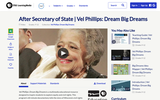 After Secretary of State | Vel Phillips: Dream Big Dreams