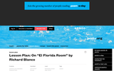 "Lesson Plan: On ""El Florida Room"" by Richard Blanco"