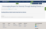 Encouraging Respect for Diversity Through Reading Choices