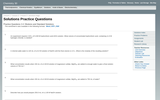 Solutions Practice Questions - Practice Questions 2.4: Dilutions and Standard Solutions