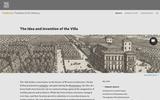 Idea and Invention of the Villa