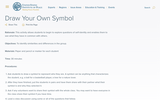 Draw Your Own Symbol