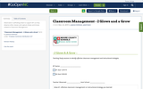 Classroom Management - 2 Glows and a Grow