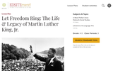 Let Freedom Ring: The Life & Legacy of Martin Luther King, Jr.