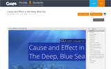 Cause and Effect in the Deep, Blue Sea