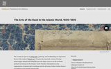 The Arts of the Book in the Islamic World, 1600-1800