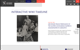Interactive WWI Timeline