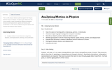 Analyzing Motion in Physics