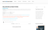 Balancing & Reactions