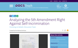 Analyzing the 5th Amendment Right Against Self-Incrimination