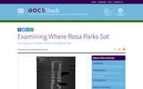 Examining Where Rosa Parks Sat