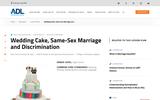 Wedding Cake, Same Sex Marriage, and Discrimination