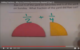 Adding Fractions - Why is a Common Denominator Needed? (Part 1)