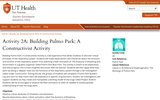 Activity 2A: Building Pulmo Park: A Constructivist Activity