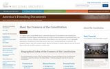 Meet the Framers of the Constitution