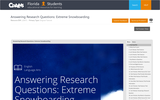Answering Research Questions: Extreme Snowboarding