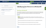 CMA Sharing Your Resources on #GoOpenNC