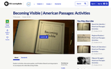 Becoming Visible | American Passages: Activities
