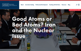 Good Atoms or Bad Atoms? Iran and the Nuclear Issue